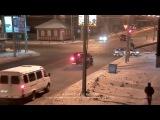 Бедная моя зая=((((Авария, перекресток 7-я Северная и Герцена, 10 декабря 2013, ДТП, Омск